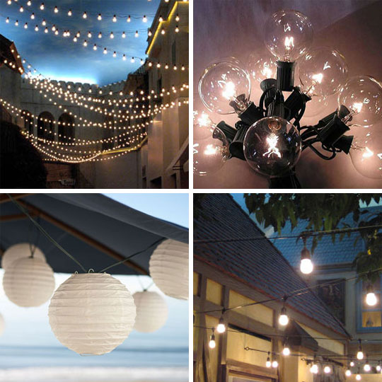 Outdoor String Lights All Weather : Design Salon Online Blog Interior Design Inspiration Creative Design Ideas Affordable ...