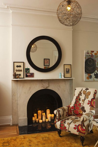 What to do with your cool fireplace Fireplace ideas no fire