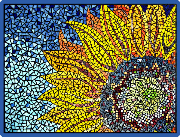 simple mosaics patterns the image kid