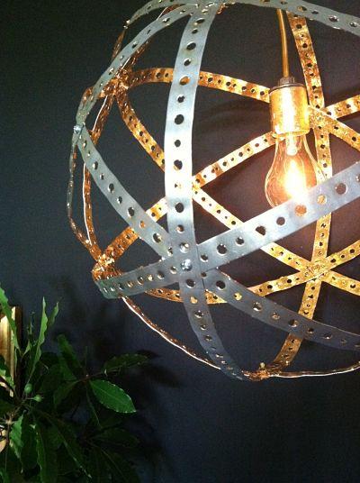 The atomic light - Diy industrial chandelier ...