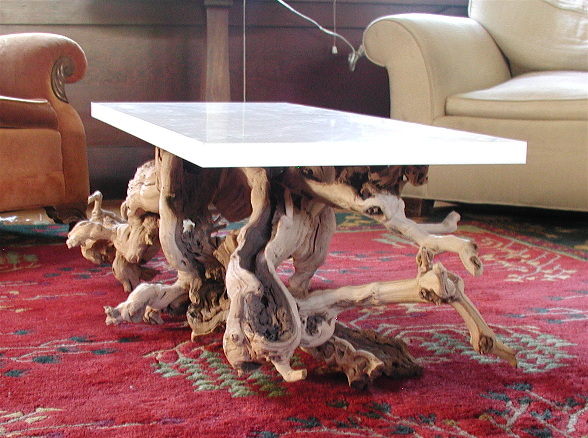 make your own modern rustic chic table