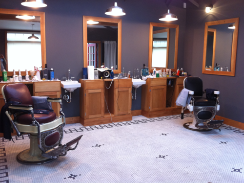 ... Barber Shop Design Ideas. on small beauty salon interior design