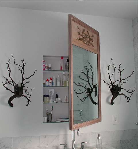 new diy hidden cabinet doors recessed medicine